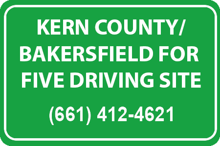 Kern County Driving School, #1 Bakersfield Driving School, Five O DS